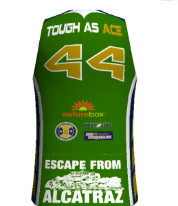 """Tough As Ace"" Triathlon Jersey. Courtesy Mt. Bora.com"