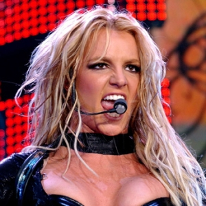 Britney with Mic